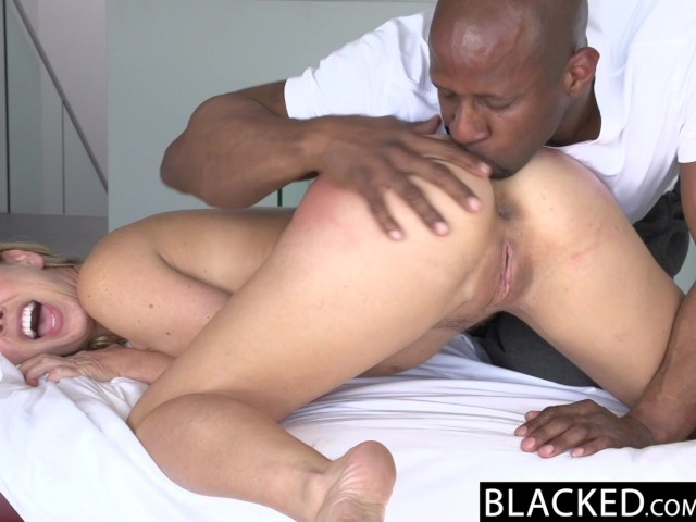 Hot Blonde Takes Big Dick
