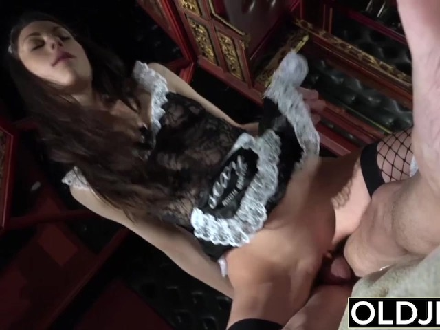 grandfather-fucks-the-hot-maid-fingers-her-young-pussy-and-gets-blowjob