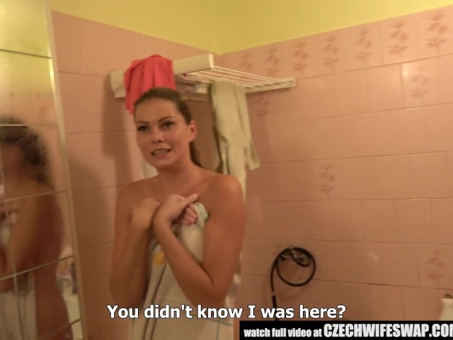 czech-wife-swap---busty-unfaithful-wife-gets-dick-to-mouth