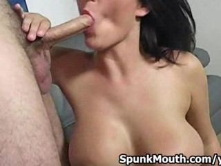 Tittyfucks Hottie Chest And Sucks Cock For Cum In Mouth