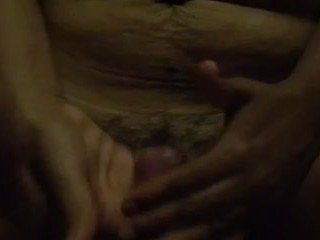 Latina With Hairy Pussy Makes Small Cock Cum Easily