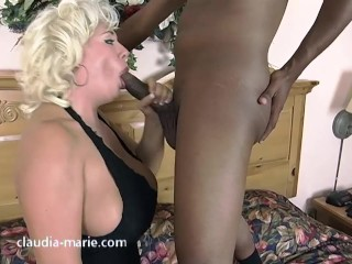 Claudia Marie Anal Breed From Black Cock