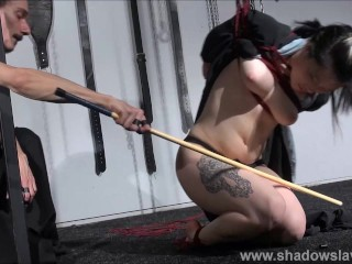 Whipped Asian Slave Devils Teen Bdsm And Suspension Bondage Of Japanese Submissive In Hard Spanking And Restrained Oriental Domination