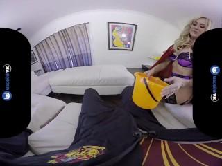 Badoinkvr.com Busty Blonde Milf Brandi Love Enjoys Her Cock Pov