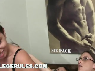 College Rules - These Young Students Like To Party! Watch Them Go Wild