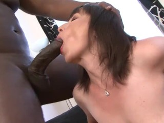 Granny Gets Fucked By Black Man Granny Anal Fucking With Big Black Cock