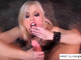 Firstclasspov - Watch Ash Hollywood Suck A Big Cock, Big Booty