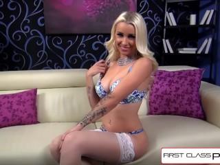 Firstclasspov - Sexy Stevie Shae Sucks A Big Cock, Big Booty And Big Tits