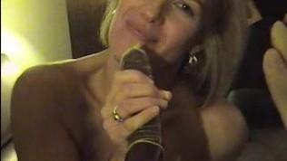 Sexy Suz having a lot of fun