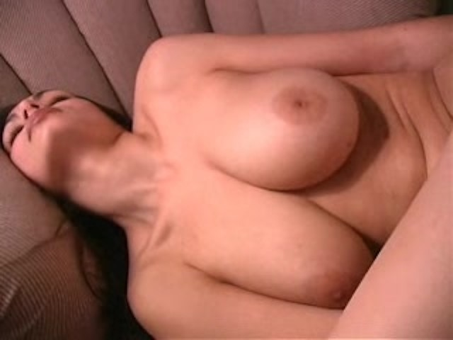 White Girl Solo Riding Dildo