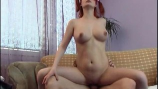 cute redhead gets her cute ass filled with cock