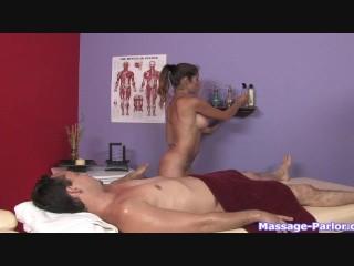 A regular massage turned into a hot handjob - 10