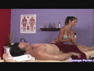 A regular massage turned into a hot handjob - 6
