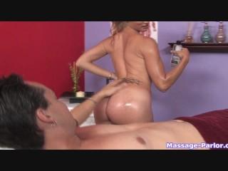 A regular massage turned into a hot handjob - 9