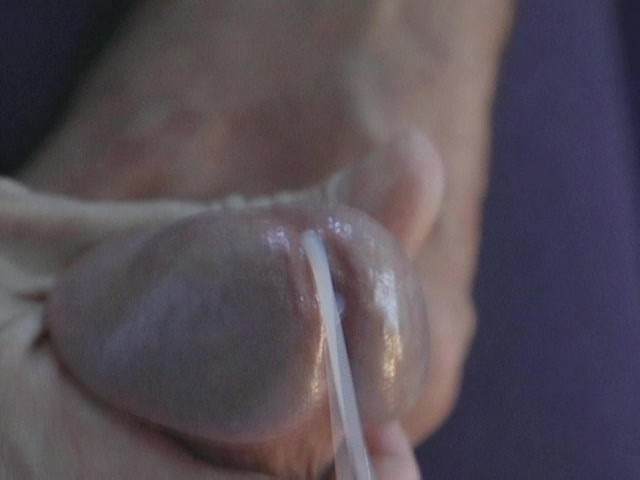 Up Close Dildo Masturbation