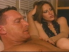 Picture Wife loves to watch her husband fuck a man