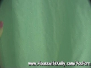 Housewife Kelly Sucks and Swallows and Loves It!