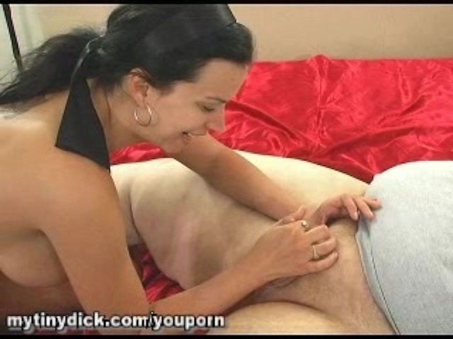 Pornstar Fucks Small Dick