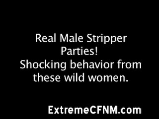 CFNM Strippers cock sucked by amateur hot babes