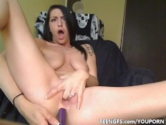 Picture Sexyest gf piercing tattoos and pussy toying