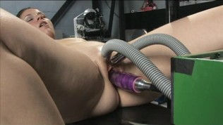 World famous Fucking Machines pound another girl