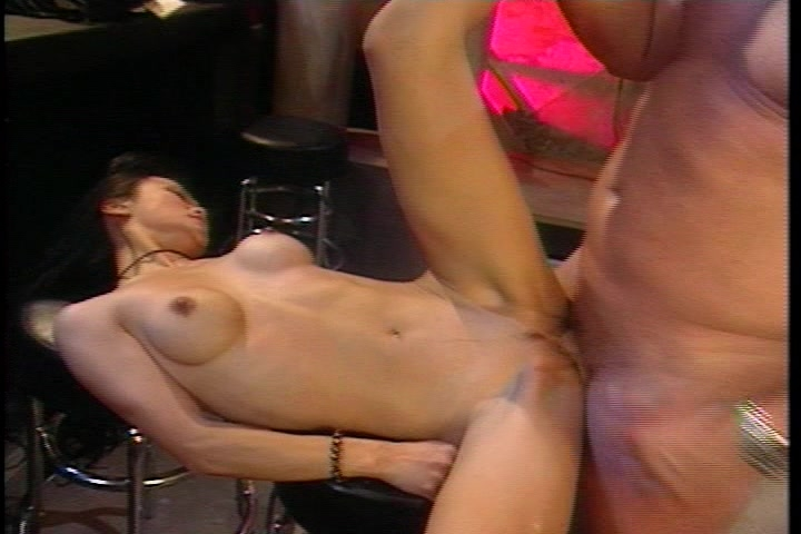 Girl sucks and fucks three guys