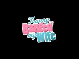 Tranny And Couple Threesome Sex