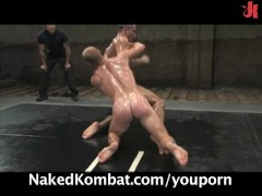 Picture Dangerously hot nude oil-wrestling match
