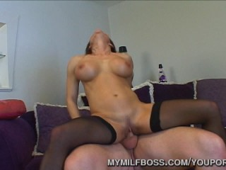 Large Titty Hot mom Boss Smashed At Office