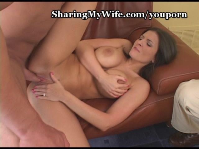 wifes big breasts