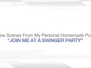 JOIN ME AT A SWINGER PARTY – GROUP SEX ORGY SWAP