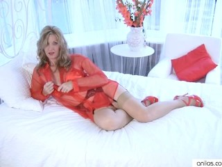 Camilla Long in amazing solo orgasm