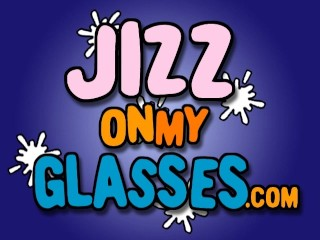 MILF Lisa Lee gets Black Cum on her Glasses