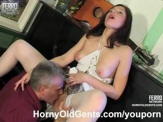 MILF music teacher bangs his school girl