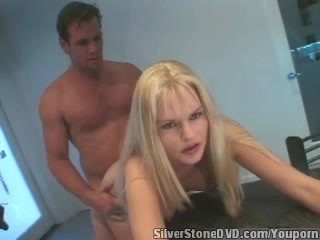 Silverstone DVD - She made me cum in the kitchen