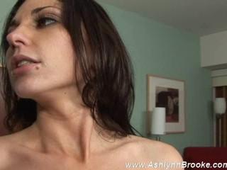 Ashlynn Brooke & Franchesca Share A Cum Cocktail
