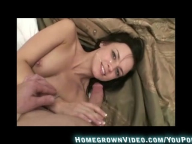 Big Ass Brunette Riding Cock