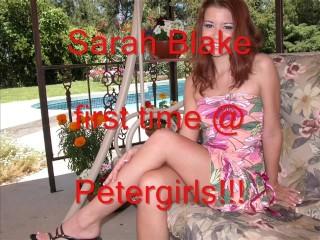 Sarah Blake 1st time @ Petergirls
