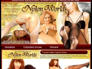 Lynn model posing in nylons