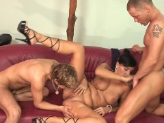 Picture Boys and a girl having fun together CLIP