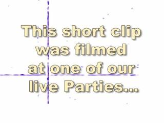 Hardcore CFNM Male Stripper Party