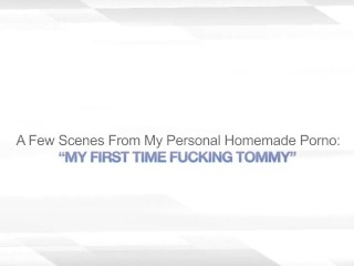 MY FIRST TIME FUCKING TOMMY – CHEATING WIFE SEX