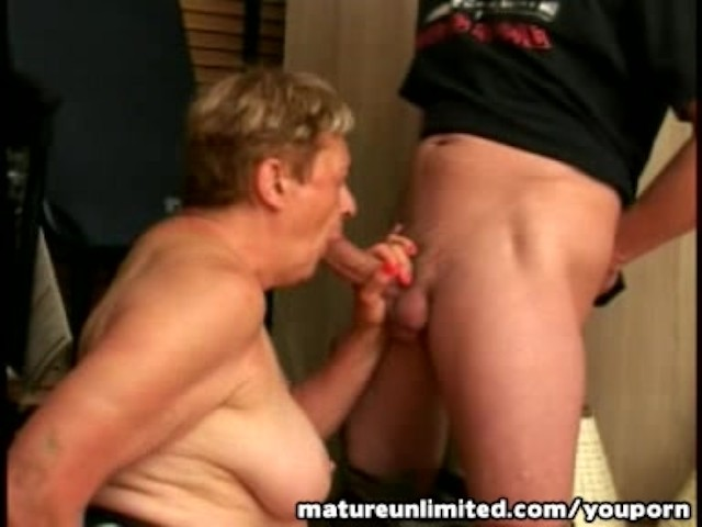 amateur granny takes on big cock