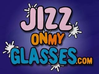 Indie Girl in Glasses Sucks Cock & Facial