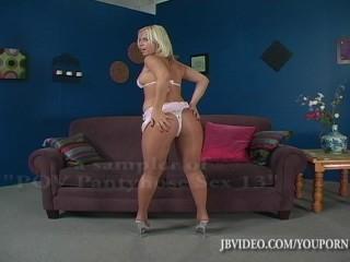 POV Pantyhose Sex with Georgia Peach (PSEX13)