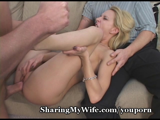 Watch wife stretched pussy