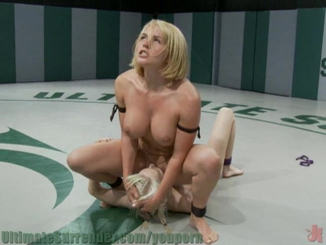 Big Breasted Blond Kicks Tiny Blond Girls Ass - Free Porn -5124