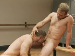 Picture Paul Wagner swallows James Gates big uncut c...