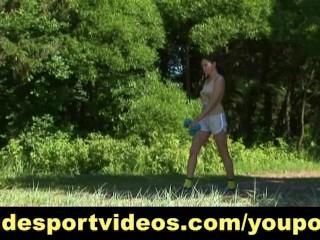 Summer outdoor workout