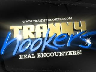 Tranny Hooker Tricks Horny Guy